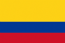 COLOMBIA - HAND WAVING FLAG (MEDIUM)